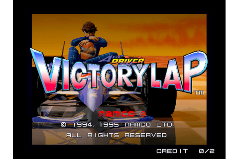 Ace Driver: Victory Lap arcade video game by NAMCO (1995)