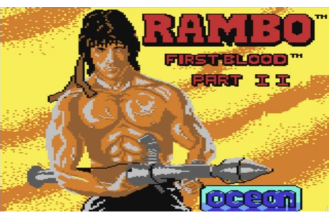 Remix64 - Rambo First Blood Part II (in game) by Mark Stothard