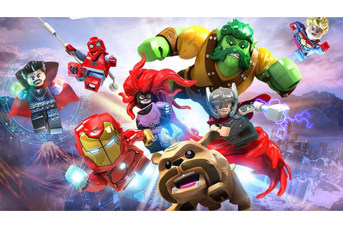 Syfy - Travel through space and time with LEGO Marvel ...