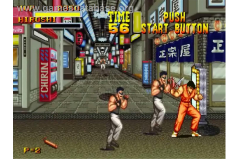 Burning Fight - SNK Neo-Geo CD - Games Database