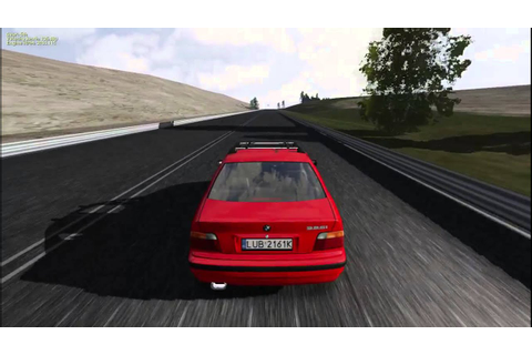 BMW e36 Sedan Racer free car simulator - YouTube