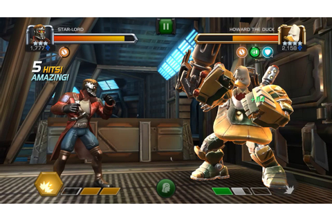 Star-Lord vs Howard the Duck - Marvel Contest of Champions ...