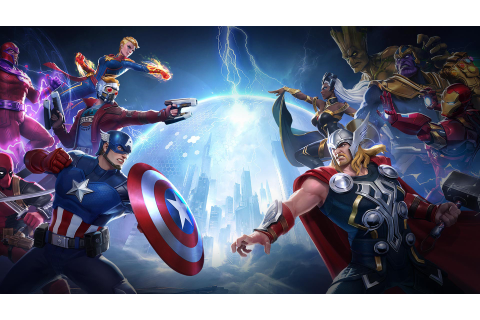 Download MARVEL Super War on PC with BlueStacks