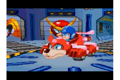 Mega Man Battle & Chase (PS1) Playthrough ...