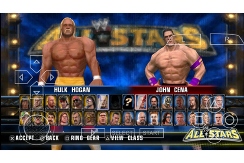 HOW TO UNLOCK EVERYTHING IN WWE ALL STARS PPSSPP WITH ...