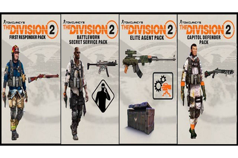 Buy The Division 2 The Battleworn Secret Service Pack PS4 ...