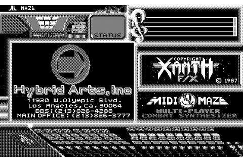 Download Midi-Maze (Atari ST) - My Abandonware
