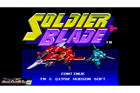 Soldier Blade on the Turbografx-16 - 1 Credit Game - YouTube