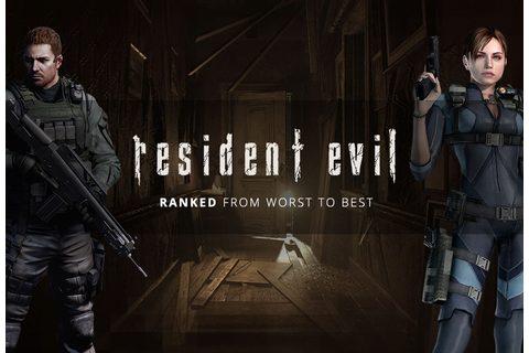 Ranking The Resident Evil Games From Worst To Best - Green ...