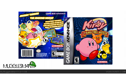 Kirby And The Amazing Mirror Game Boy Advance Box Art ...