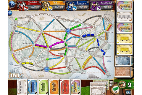 Days of Wonder Redesigns Ticket to Ride on Mobile ...