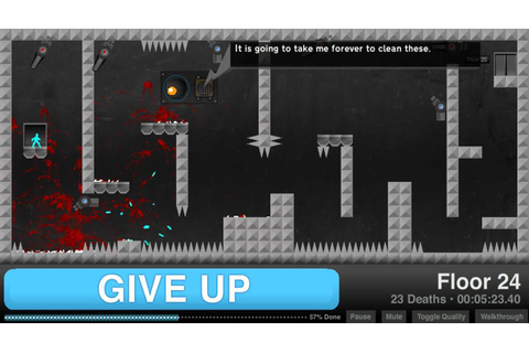 Give Up-Full Walkthrough (All Levels) - YouTube