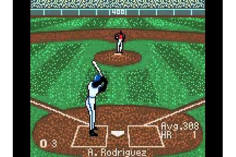 All Star Baseball 2001 (Game Boy Color) - YouTube