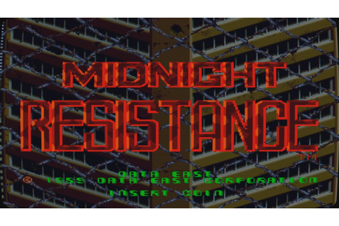 Midnight Resistance Intro (Arcade Game) - YouTube
