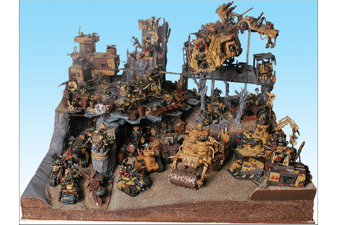 40k - Armies on Parade - Orks | Table Top Gaming | 40k ...