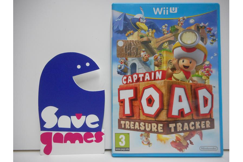 Captain Toad Treasure Tracker - Save Games