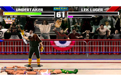 WWF Wrestlemania:The Arcade Game (Undertaker) Gameplay ...