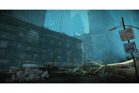 "Waterworld - very early screenshot of my level ""Waterworld ..."