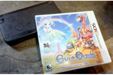 Ever Oasis Nintendo 3DS Game Giveaway • MidgetMomma