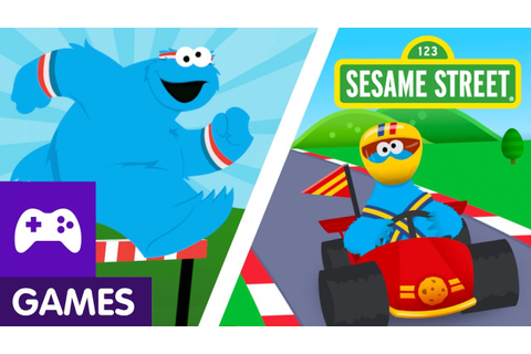 Sesame Street: The Cookie Games with Cookie Monster | Game ...