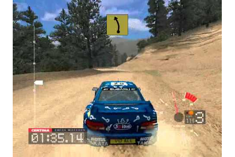 Colin Mcrae Rally 3 PC Gameplay On Intel GMA 3100 ...