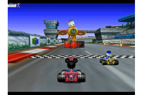 Mickey's Speedway USA - Disney Race Games - Nintendo 64 ...