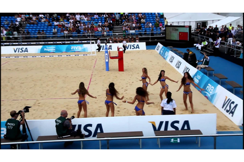 London 2012 Olympic Games, the Beach Volleyball Girls ...