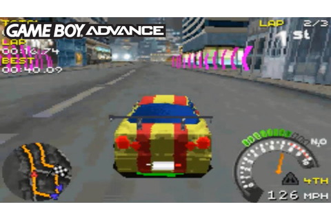 Street Racing Syndicate (Gameboy Advance Gameplay) - YouTube