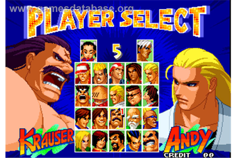 Real Bout Fatal Fury 2 - The Newcomers - Arcade - Games ...
