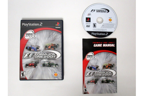 Formula One 2001 game for Playstation 2 (Complete) | The ...