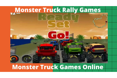 Monster Truck Rally Games ( Full Money ) - Monster Truck ...