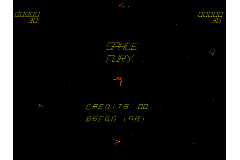 Space Fury arcade video game by SEGA Enterprises, Ltd. (1981)