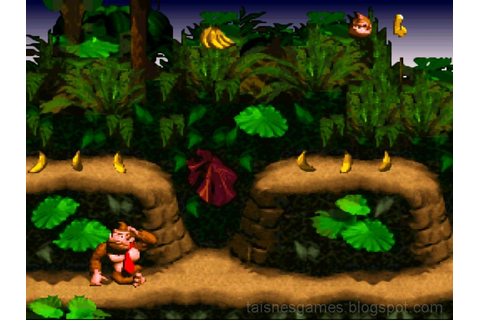 Classic Game: Donkey Kong Country