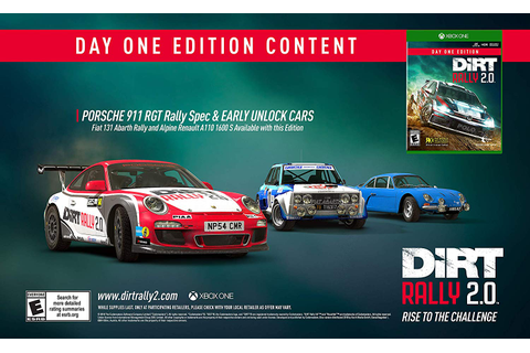 DiRT Rally 2.0 | Game Preorders