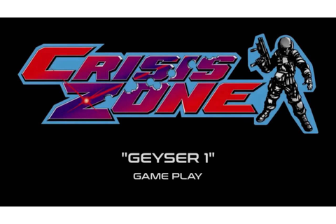 "Namco Crisis Zone - ""Geyser 1"" Game Play (Projected) - YouTube"