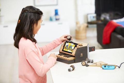 Nintendo Labo is a Cardboard DIY Kit to Complement the ...