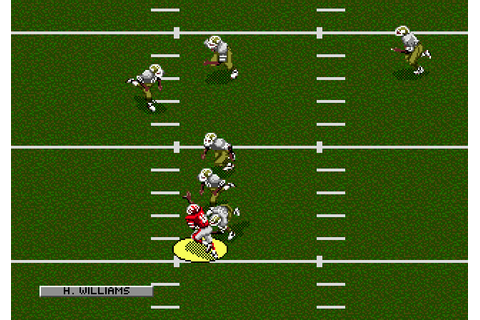 NFL Football '94 starring Joe Montana (1993) by Double ...