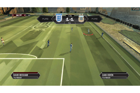 Pure Football for Microsoft Xbox 360 - The Video Games Museum