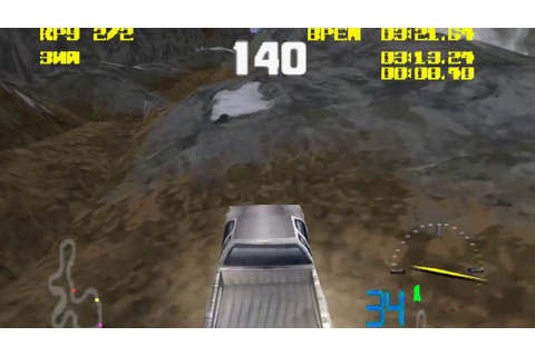 4x4 World Trophy PSone gameplay - YouTube