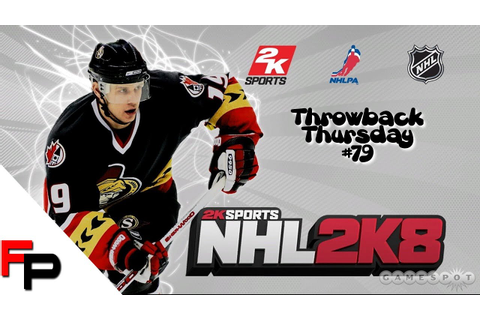 NHL 2K8 - Xbox 360 - Throwback Thursday - Ep. 79 - YouTube