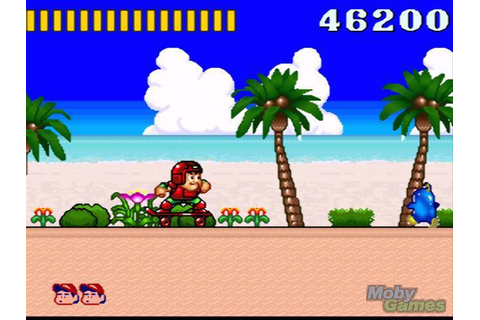 Скриншоты: Super Adventure Island (1992, SNES / Super ...
