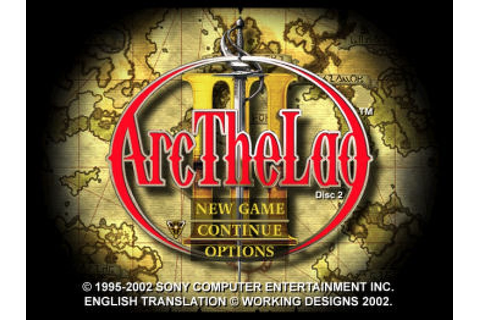 Arc the Lad III (1999) by ARC Entertainment PS game