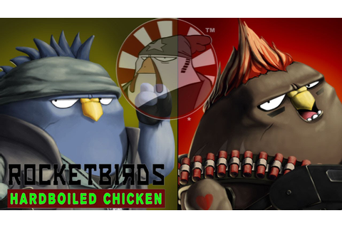 Rocketbirds Hardboiled Chicken Gameplay Moments PC HD ...