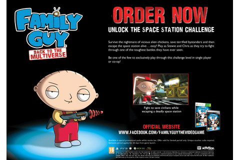 Buy 360 FAMILY GUY BACKTOMULTI EX on Xbox 360 | GAME