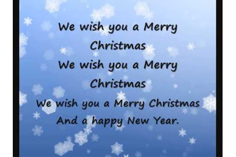 "Click on: KARAOKE ""WE WISH YOU A MERRY CHRISTMAS & A HAPPY ..."