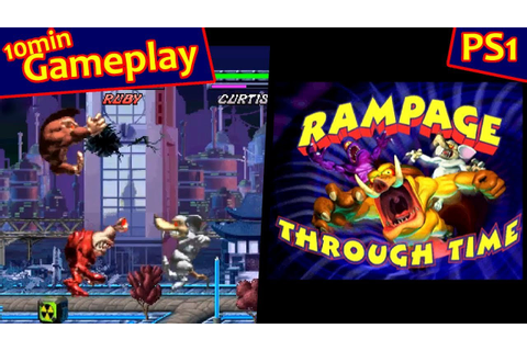 Rampage Through Time ... (PS1) - YouTube