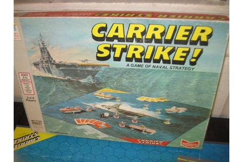 CARRIER STRIKES GAME A Game of Naval StrategyVintage board