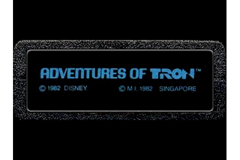 Adventures of Tron (Atari 2600) - Game Play - YouTube