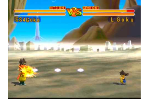 Dragon Ball GT: Final Bout Game Sample - Playstation - YouTube