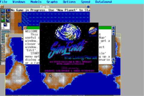 Download SimEarth: The Living Planet - My Abandonware